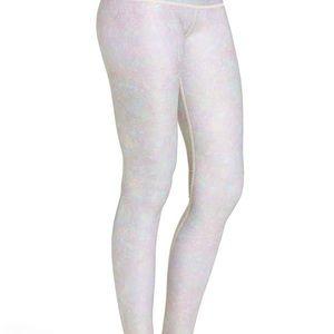 Teeki White Snake Opal Hot Yoga Pants